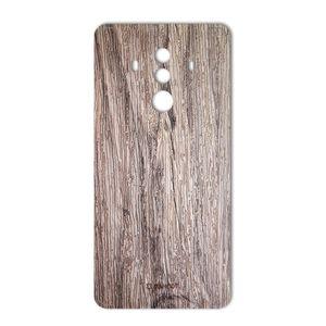 برچسب تزئینی ماهوت مدل Walnut Texture مناسب برای گوشی  Huawei Mate 10 Pro