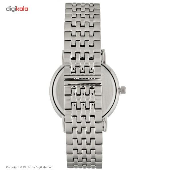 ساعت مچی عقربه ای مردانه رومانسون مدل TM4225MM1JA16R