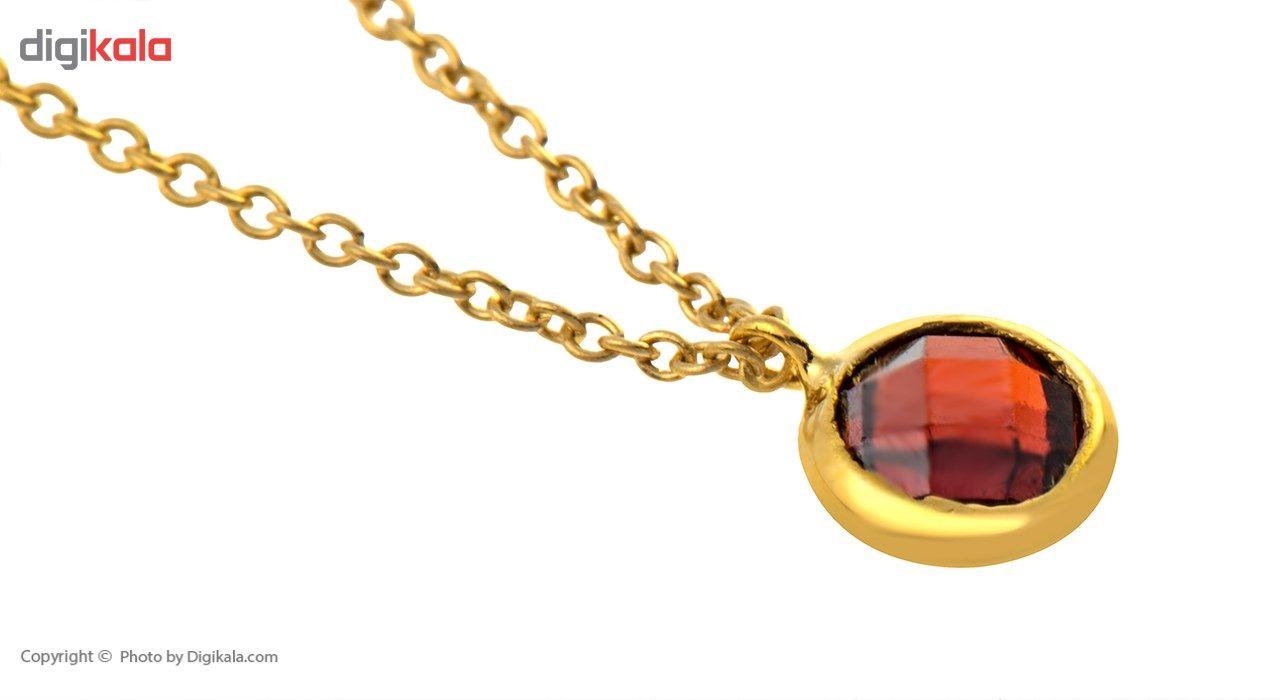 آویز ساعت طلا 18 عیار ماهک مدل MW0023 - مایا ماهک -  - 3