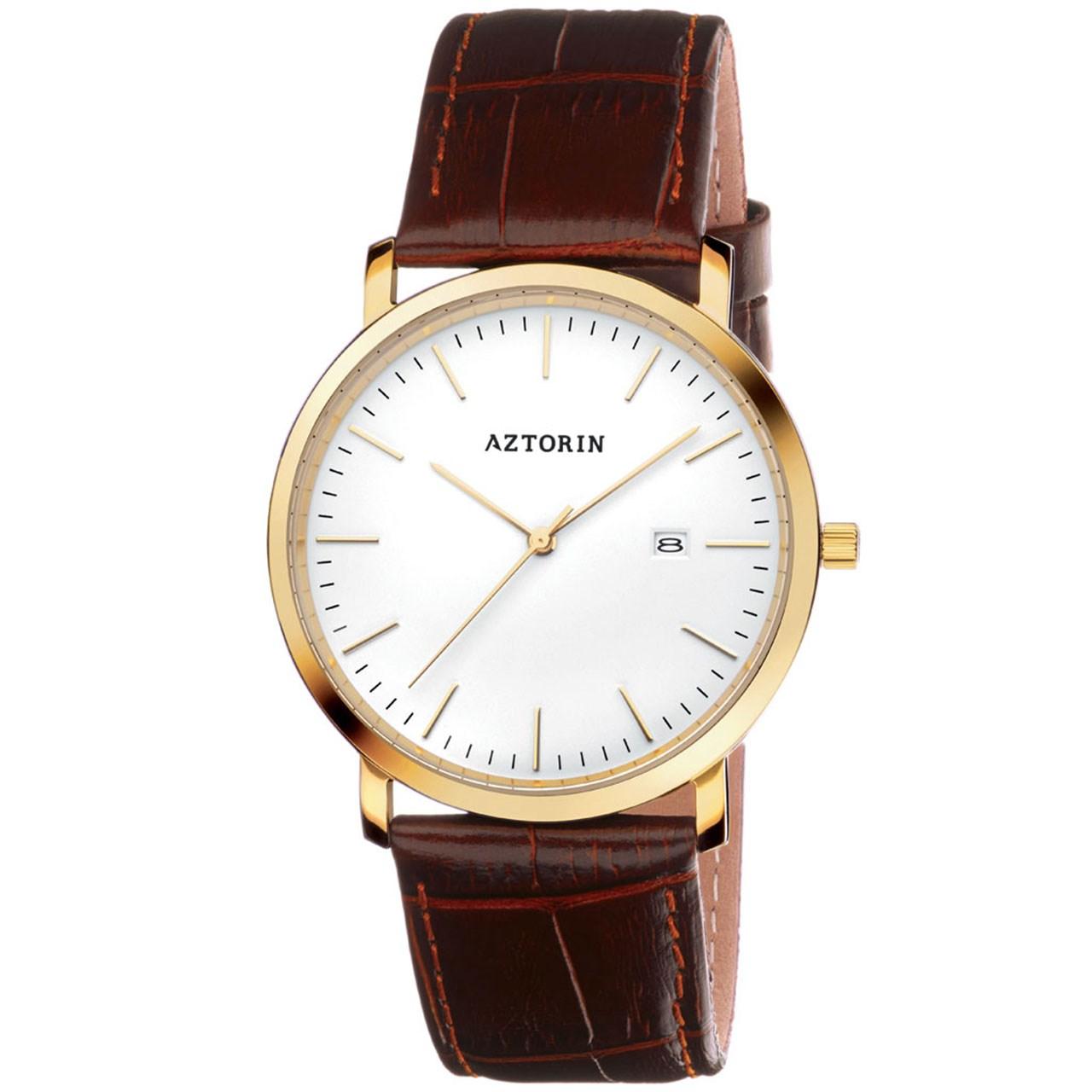 ساعت مچی عقربه ای مردانه ازتورین مدل A046.G196
