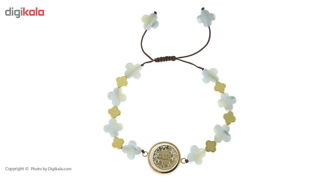 دستبند طلا 18 عیار ماهک مدل MB0403 - مایا ماهک -  - 2