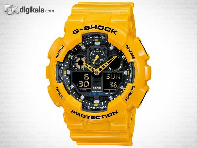 خرید ساعت مچی عقربه ای مردانه کاسیو کاسیو-GA-100A-9A | ساعت مچی