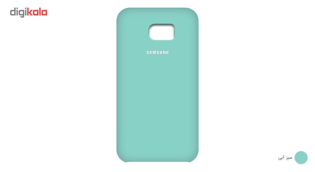 کاور سیلیکونی مناسب برای گوشی موبایل سامسونگ گلکسی S7 Edge