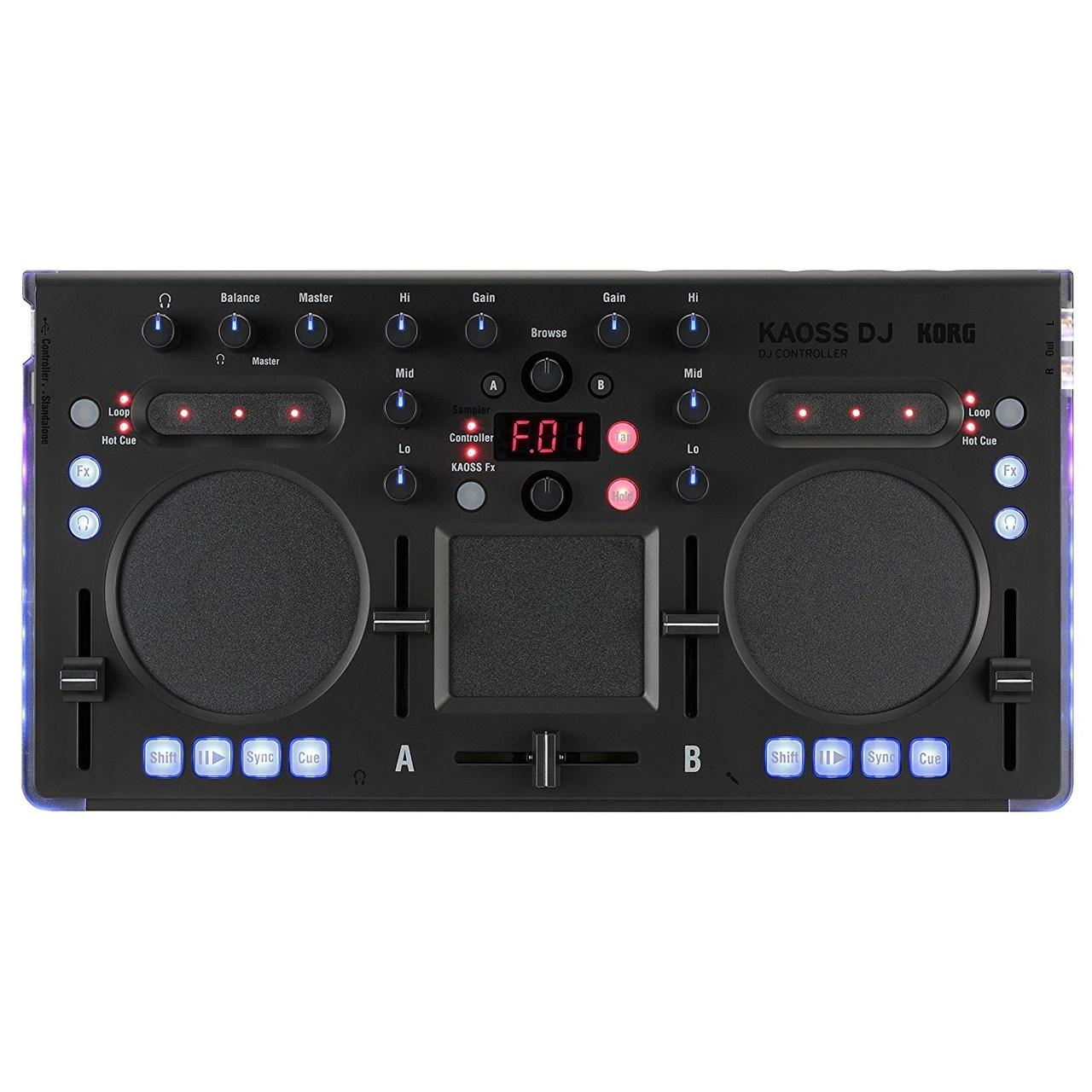 دی جی کنترلر  کرگ مدل Kaoss DJ