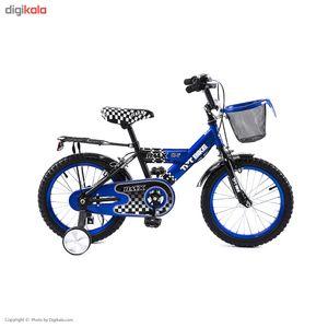 دوچرخه شهری تی پی تی مدل E157 سایز 16 - سایز فریم 16