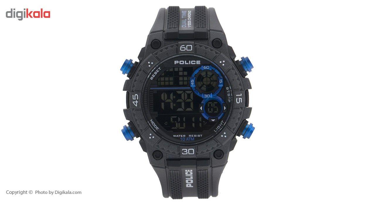 ساعت مچی دیجیتالی مردانه پلیس مدل P14680JPB-02 -  - 2