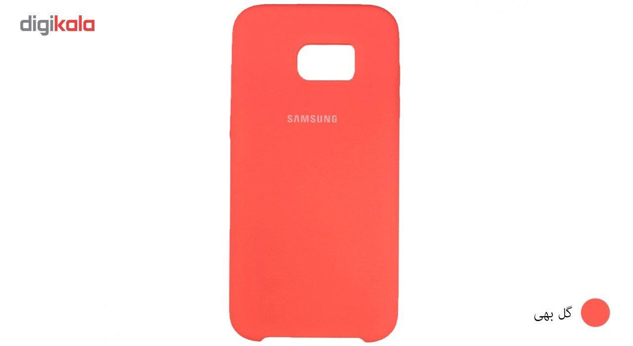 کاور سیلیکونی مناسب برای گوشی موبایل سامسونگ گلکسی S7 Edge main 1 10