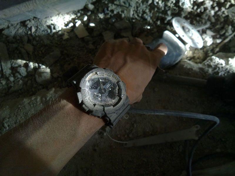 ساعت مچی عقربه ای مردانه کاسیو جی شاک GA-110-1ADR -  - 5