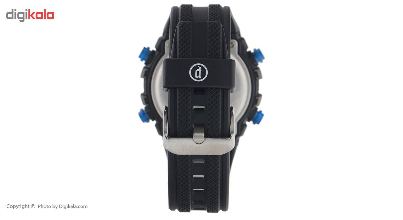ساعت مچی دیجیتالی مردانه پلیس مدل P14680JPB-02 -  - 1