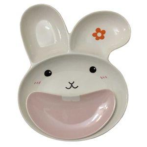 ست 2 تکه غذاخوری کودک مدل خرگوش
