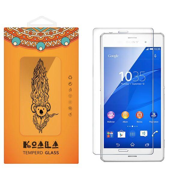 محافظ صفحه نمایش شیشه ای کوالا مدل Tempered مناسب برای گوشی موبایل سونی Xperia Z3