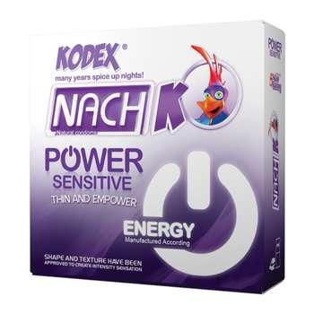 کاندوم کدکس مدل Power Sensitive بسته 3 عددی