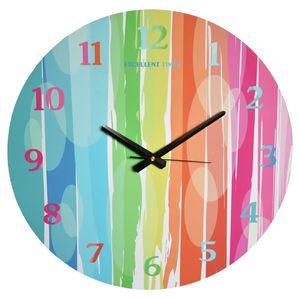 ساعت دیواری نقطه مدل Colorful