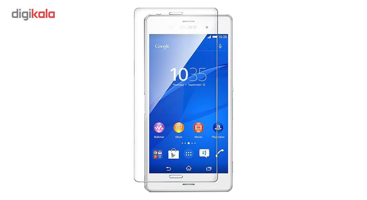 محافظ صفحه نمایش شیشه ای کوالا مدل Tempered مناسب برای گوشی موبایل سونی Xperia Z3 main 1 2