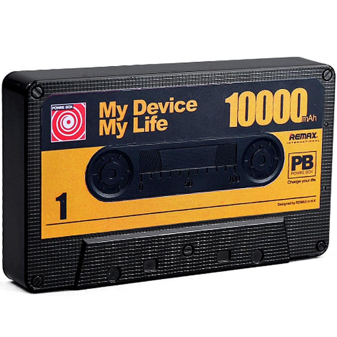 عکس شارژر همراه ریمکس مدل Tape با ظرفیت 10000 میلی آمپر ساعت