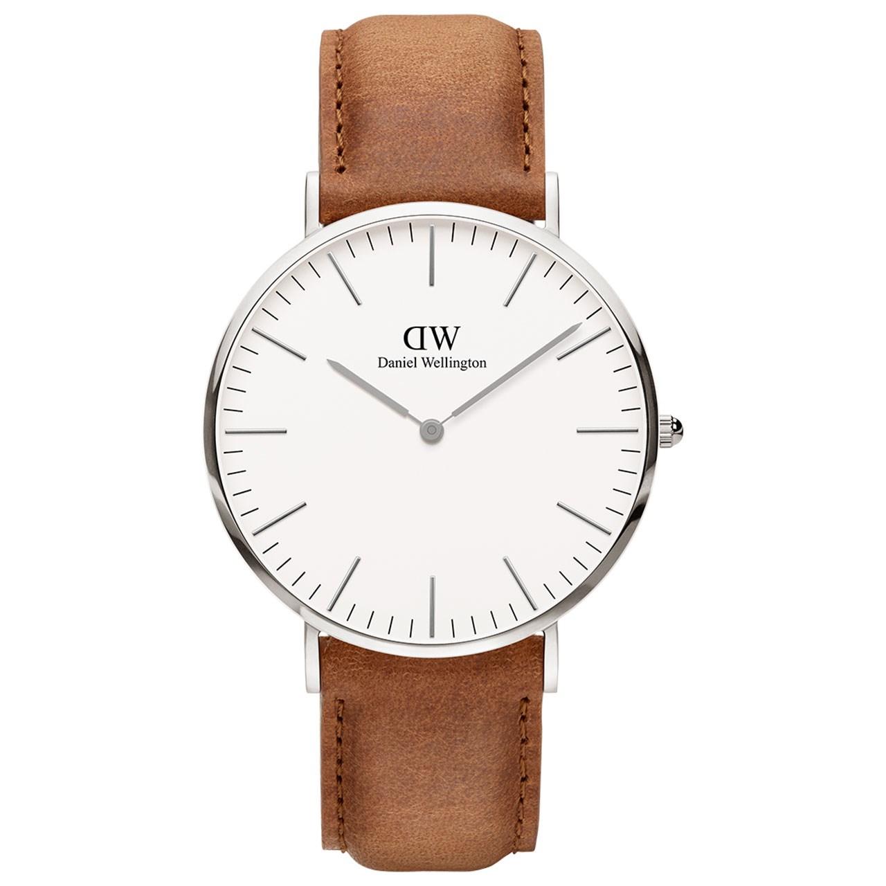 ساعت مچی عقربه ای مردانه دنیل ولینگتون مدل DW00100110              خرید (⭐️⭐️⭐️)