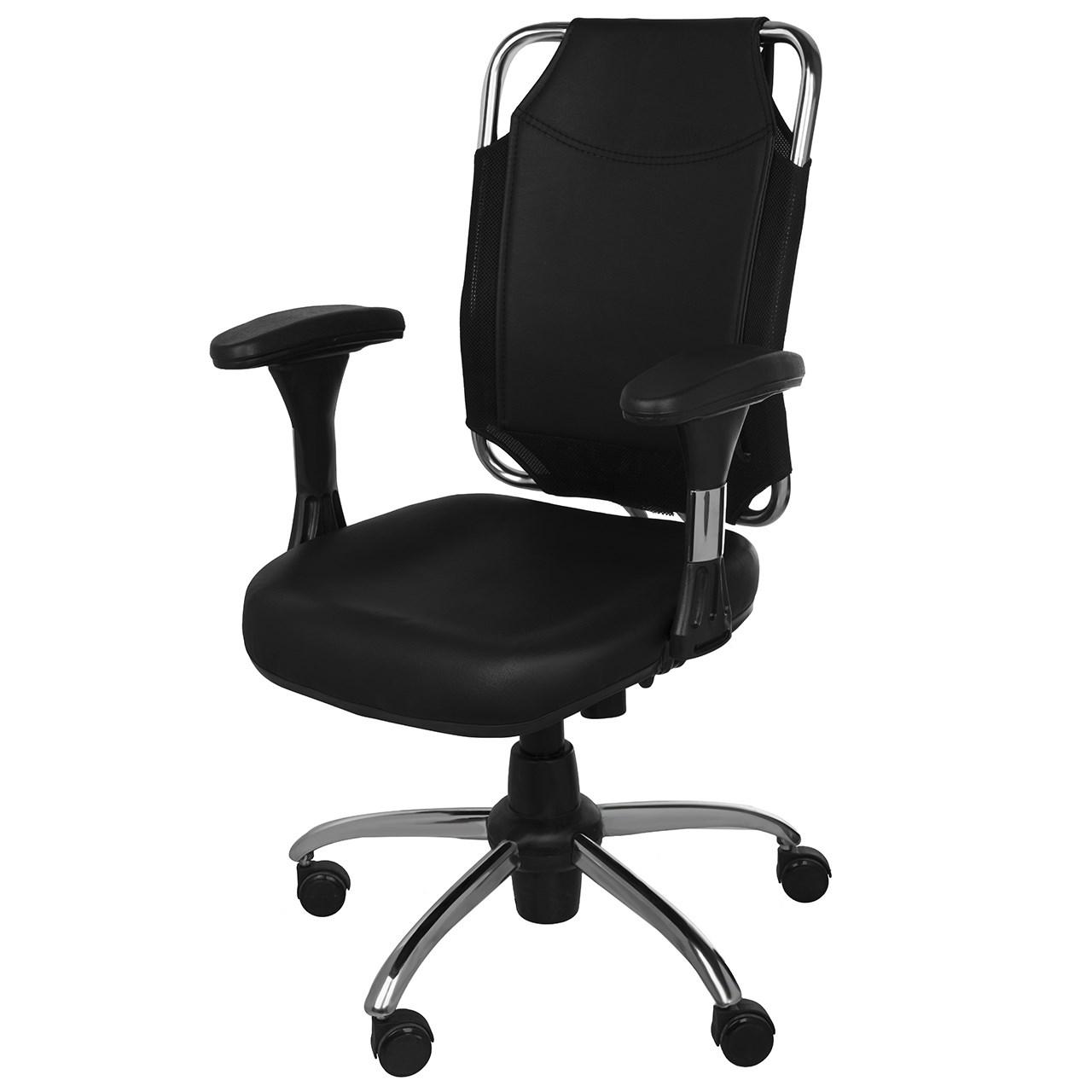 صندلی نوین آرا مدل K713G چرمی