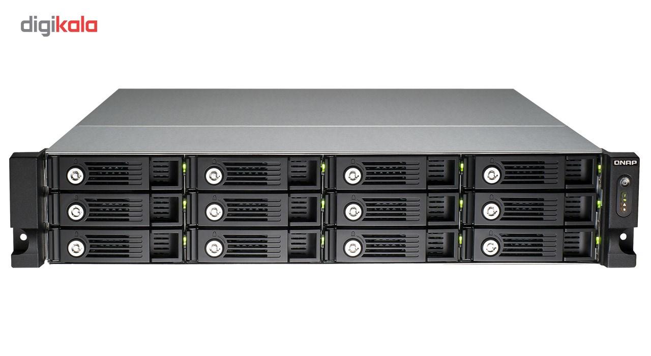 ذخیره ساز تحت شبکه کیونپ مدل TVS-1271U-RP-i7-32G بدون دیسک