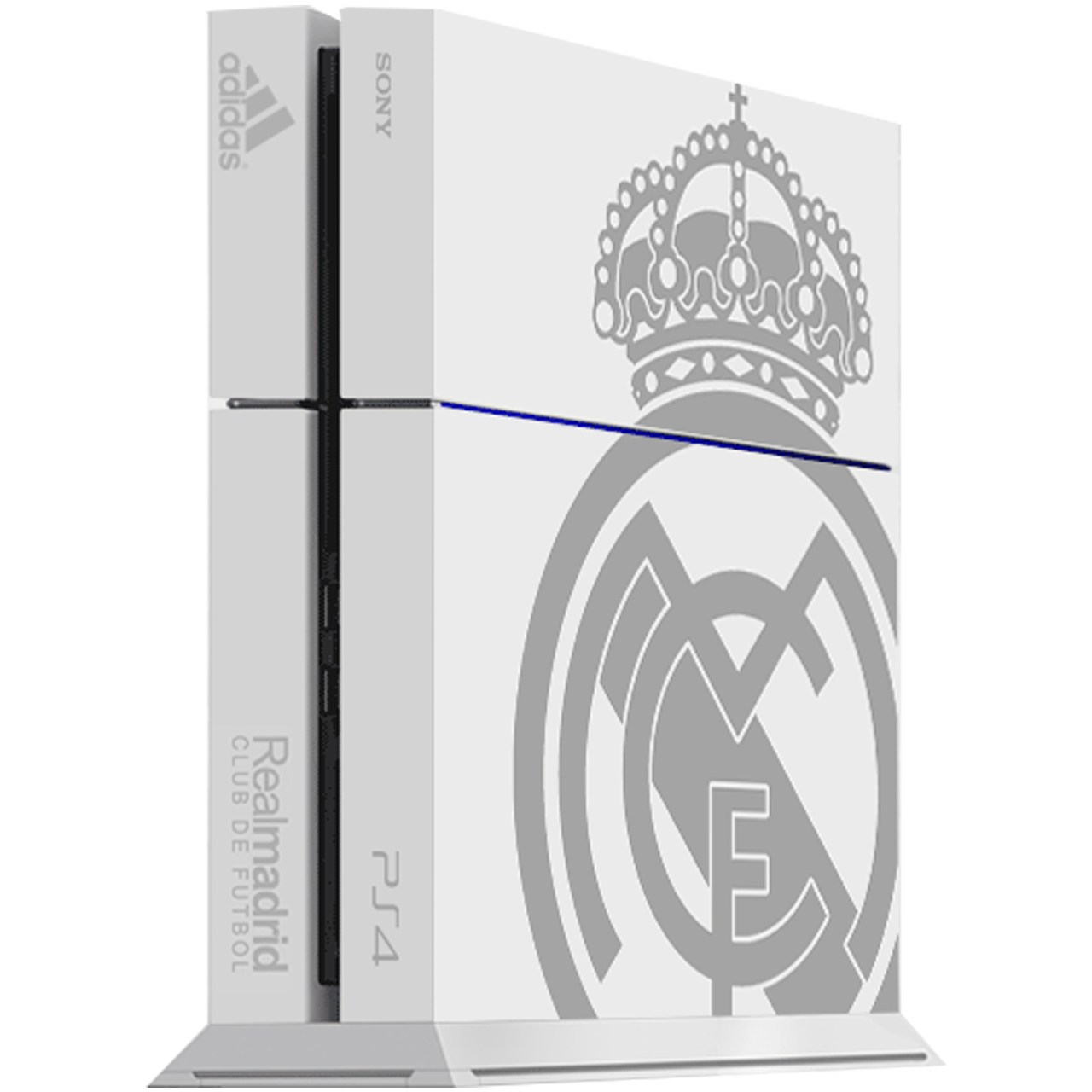 برچسب عمودی پلی استیشن 4 ونسونی طرح Real Madrid