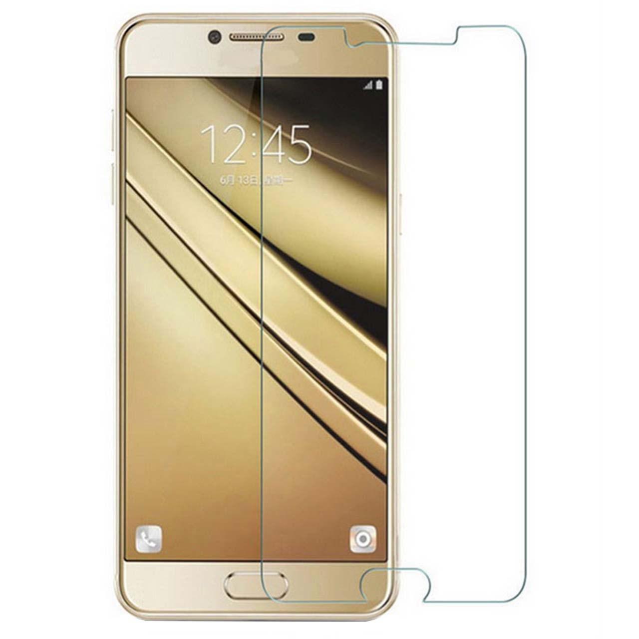محافظ صفحه نمایش شیشه ای 9 اچ مناسب برای گوشی سامسونگ C5