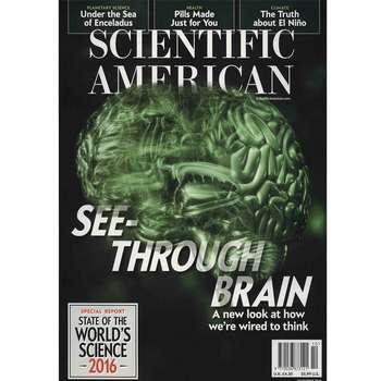 مجله ساینتیفیک امریکن - اکتبر 2016