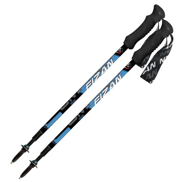 عصای کوهنوردی فیزان مدل COMPACT LIGHT BLUE