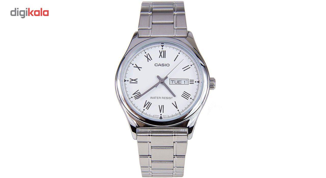 ساعت مچی عقربه ای مردانه کاسیو مدل MTP-V006D-7BUDF  Casio MTP-V006D-7BUDF Watch For Men