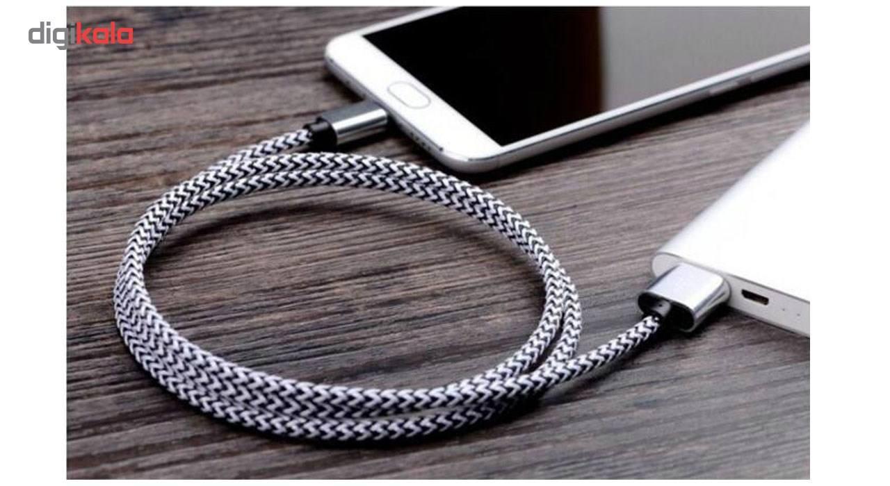 کابل تبدیل USB  به MICROUSB  کنفی اکسون مدل 1M main 1 3