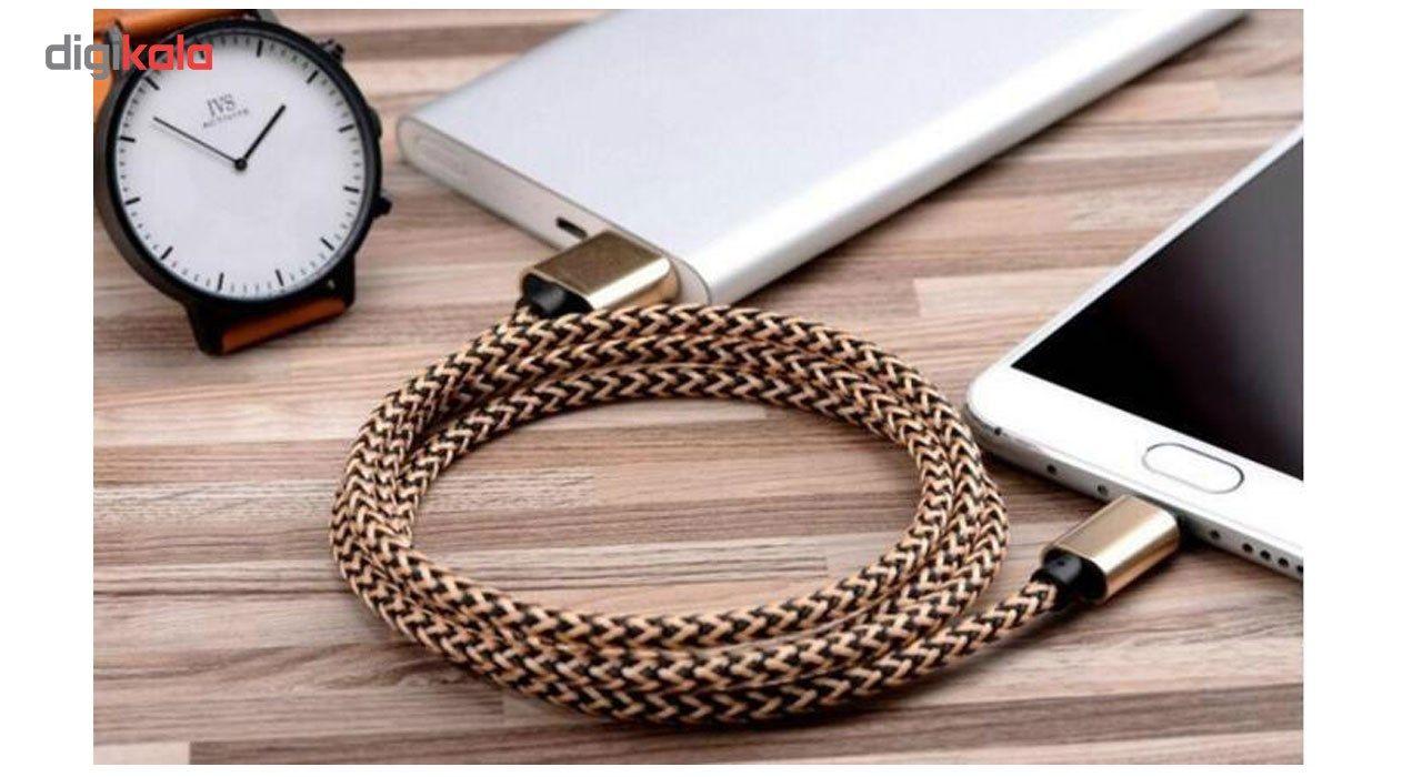 کابل تبدیل USB  به MICROUSB  کنفی اکسون مدل 1M main 1 4