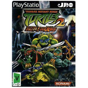 بازی2 Teenage Mutant Ninja Turtles مخصوص PS2