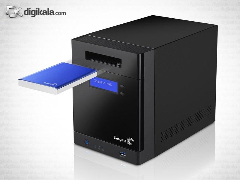 ذخیره ساز تحت شبکه 4Bay سیگیت مدل بیزینس استوریج ظرفیت 8 ترابایت