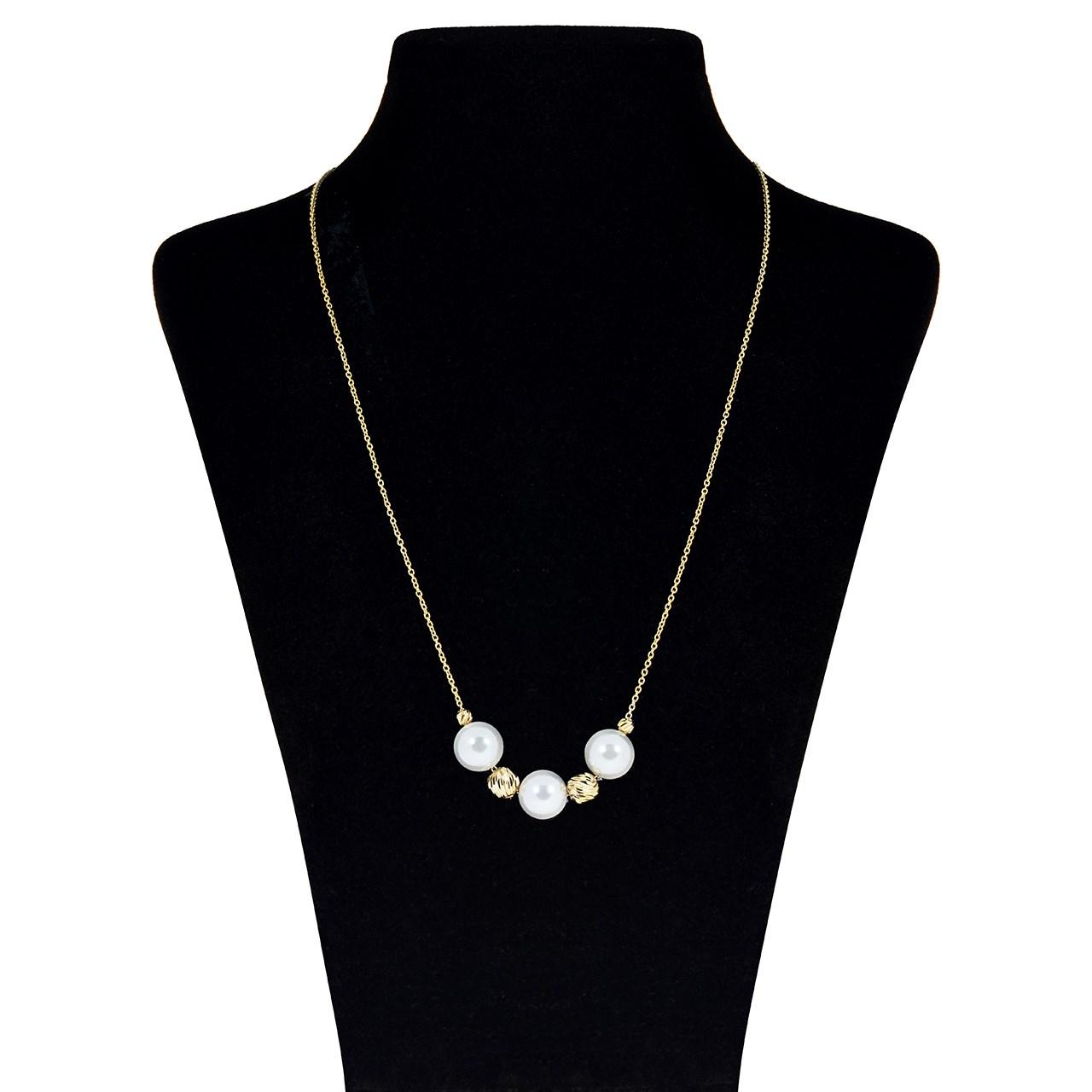 گردنبند طلا 18 عیار ماهک مدل MM0593 - مایا ماهک