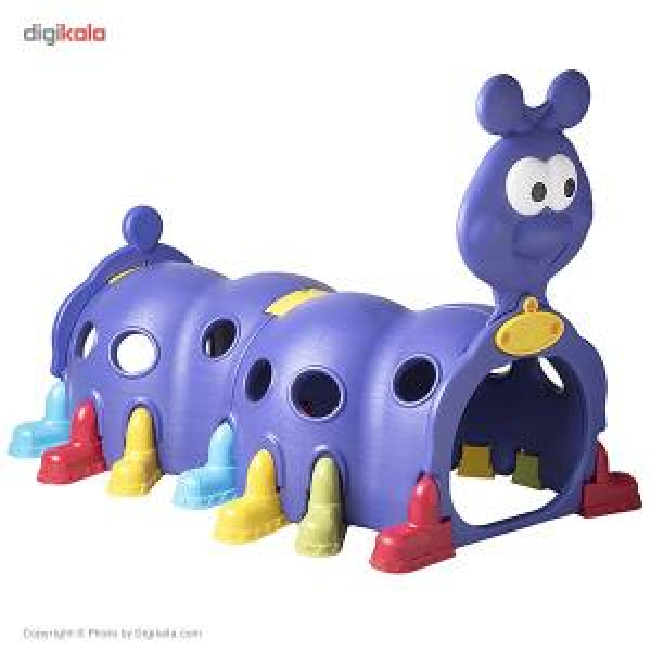 پارک بازی ساحل کیدز مدل Snail Tunnel  Sahel Kids Snail Tunnel Playhouse