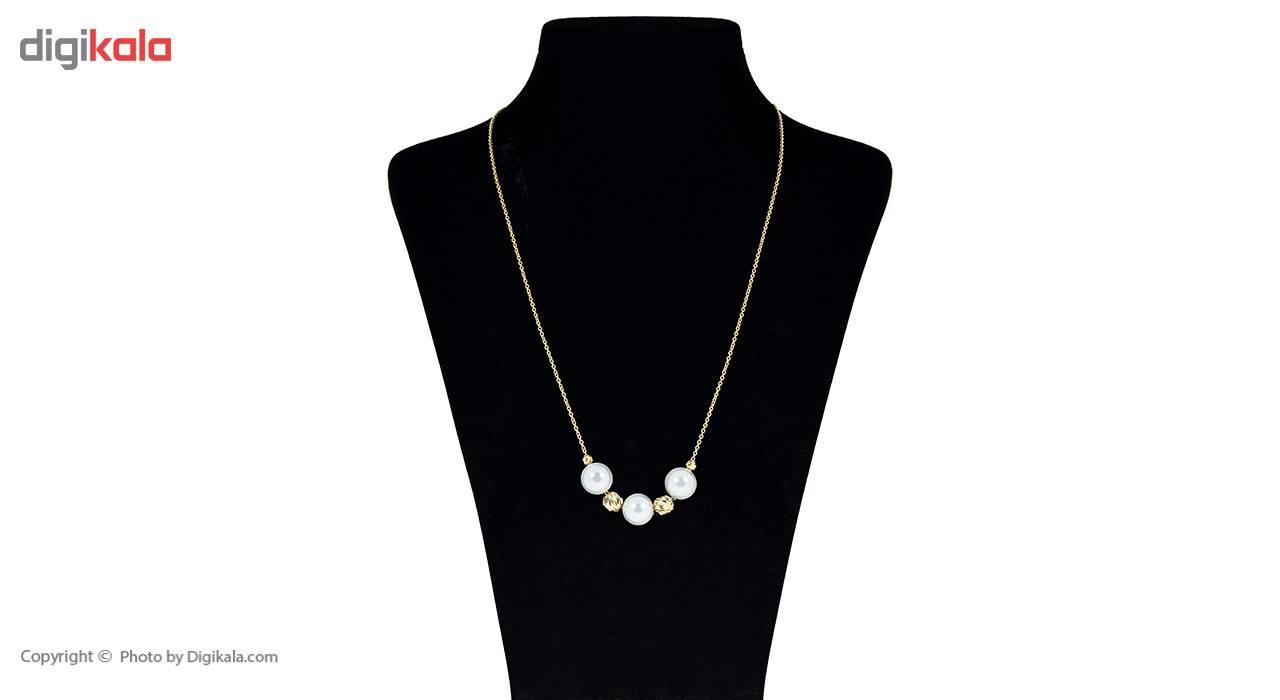 گردنبند طلا 18 عیار ماهک مدل MM0593 - مایا ماهک -  - 1