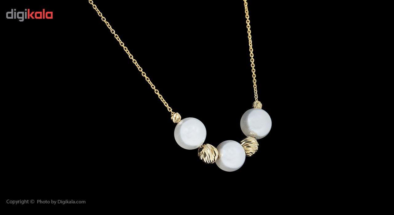 گردنبند طلا 18 عیار ماهک مدل MM0593 - مایا ماهک -  - 3