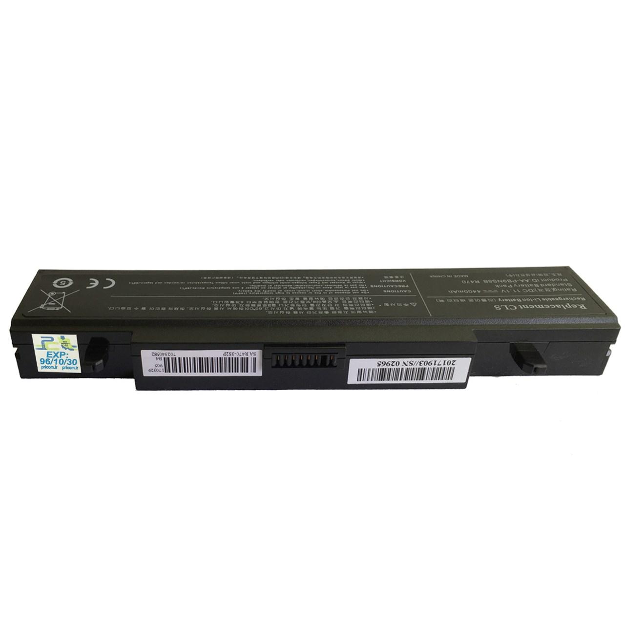 بررسی و {خرید با تخفیف} باتری لپ تاپ 6 سلولی لپ تاپ سامسونگ R470 غیر اصلاصل
