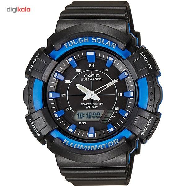 خرید ساعت مچی عقربه ای مردانه کاسیو مدل AD-S800WH-2A2VDF