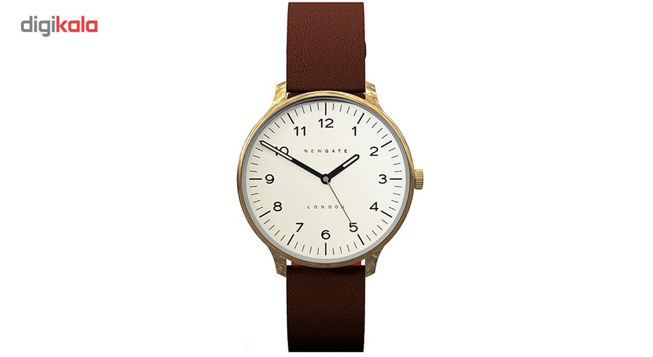 ساعت مچی عقربه ای نیوگیت مدل Blip Brass Case Cream Dial