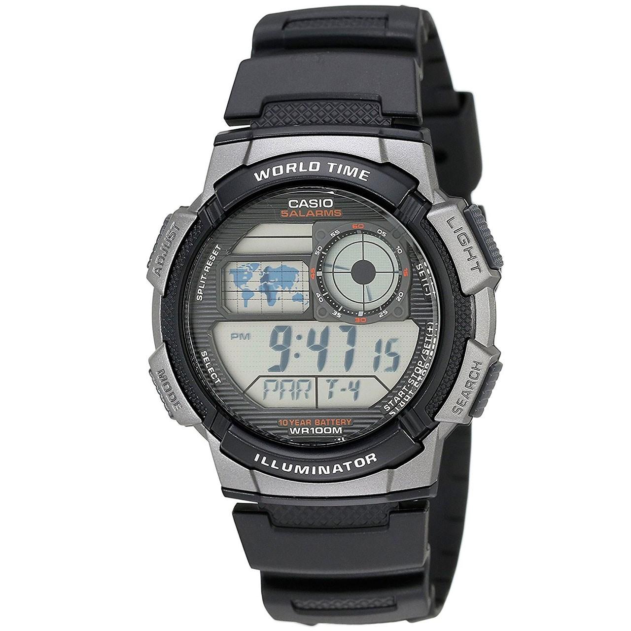 ساعت مچی دیجیتال مردانه کاسیو مدل AE-1000W-1BVDF 34