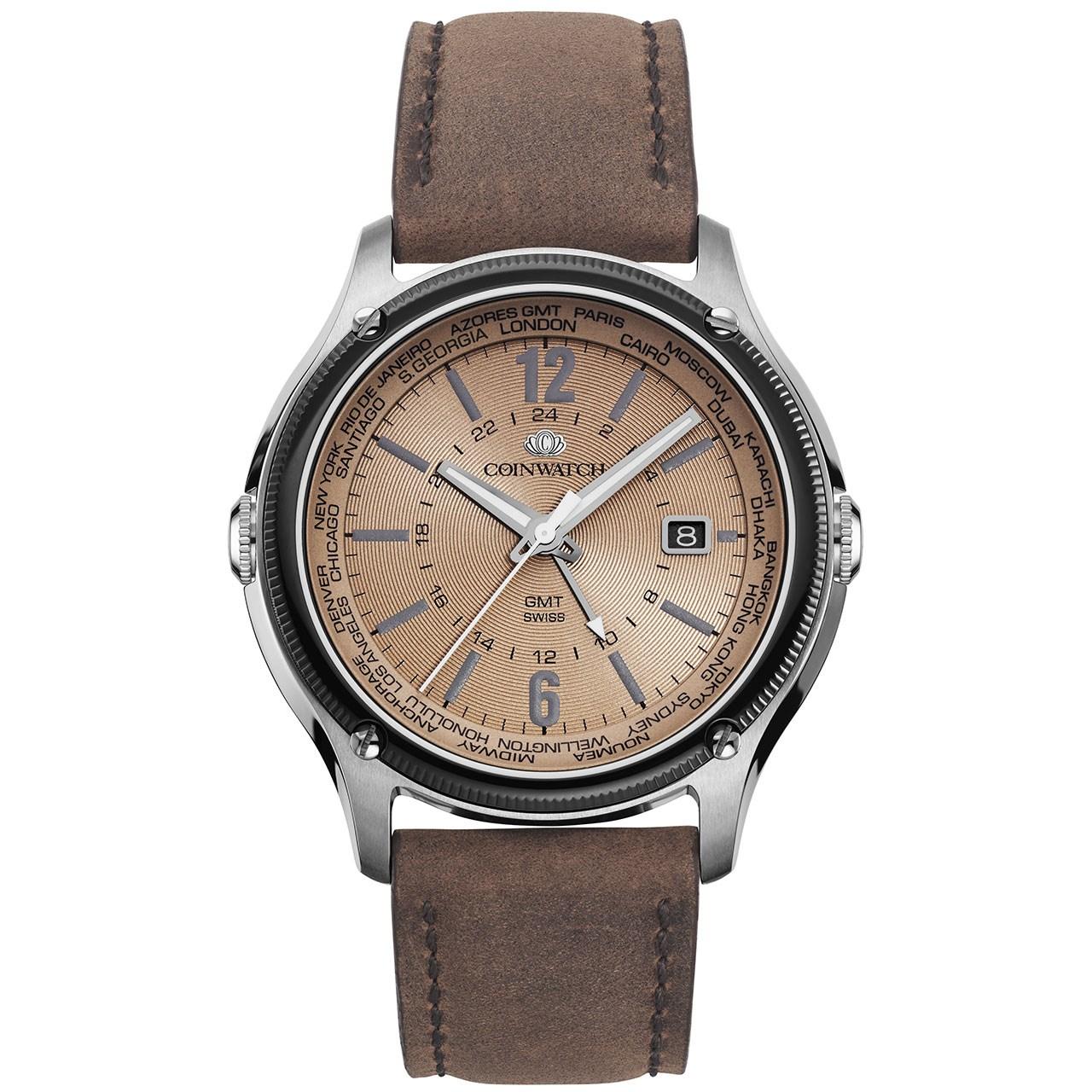 ساعت مچی عقربه ای مردانه کوین واچ مدل C161SIY تولید محدود