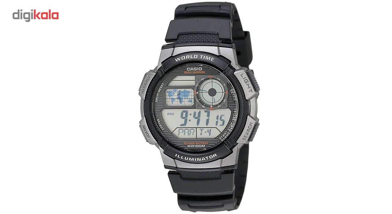 خرید ساعت مچی دیجیتال مردانه کاسیو مدل AE-1000W-1BVDF | ساعت مچی