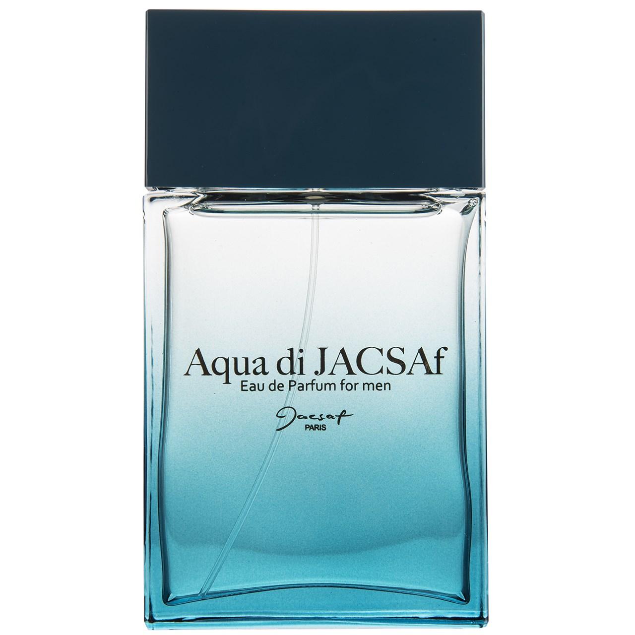 ادو پرفیوم مردانه ژک ساف مدل Aqua Di Jacsaf حجم 100 میلی لیتر