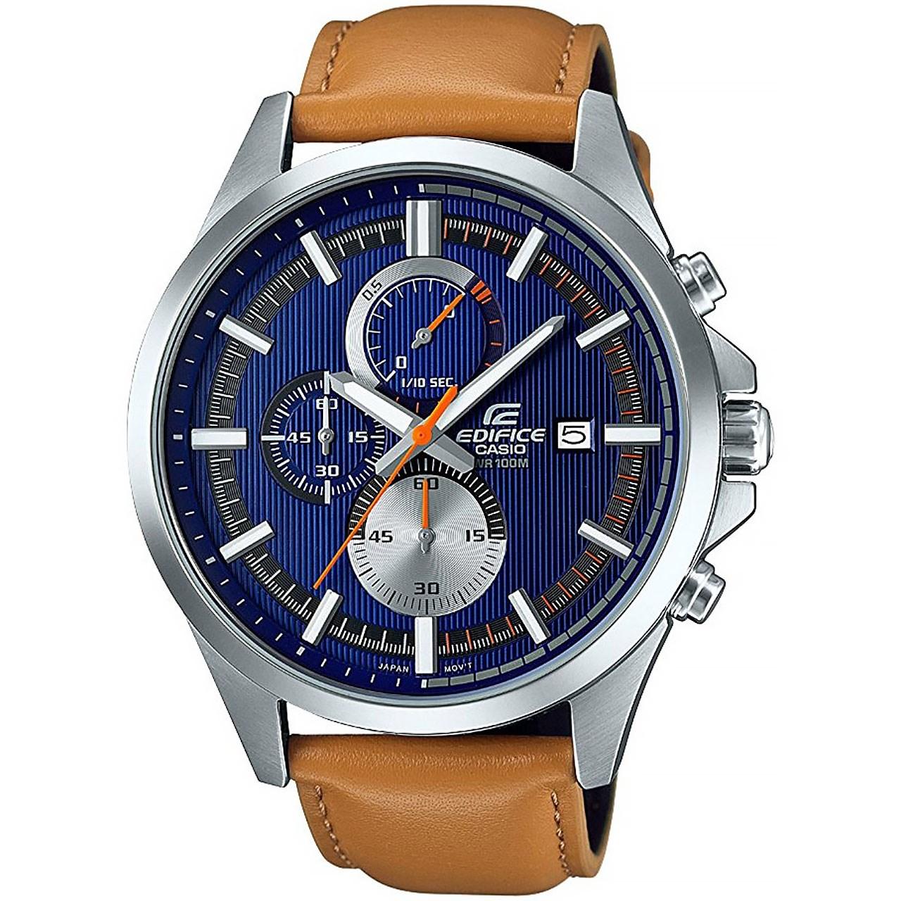 ساعت مچی عقربه ای مردانه کاسیو مدل EFV-520L-2AVUDF | Casio EFV-520L-2AVUDF Watch For Men