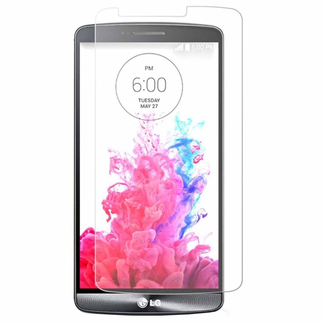 محافظ صفحه نمایش شیشه ای 9 اچ مناسب برای گوشی LG G3 Stylus