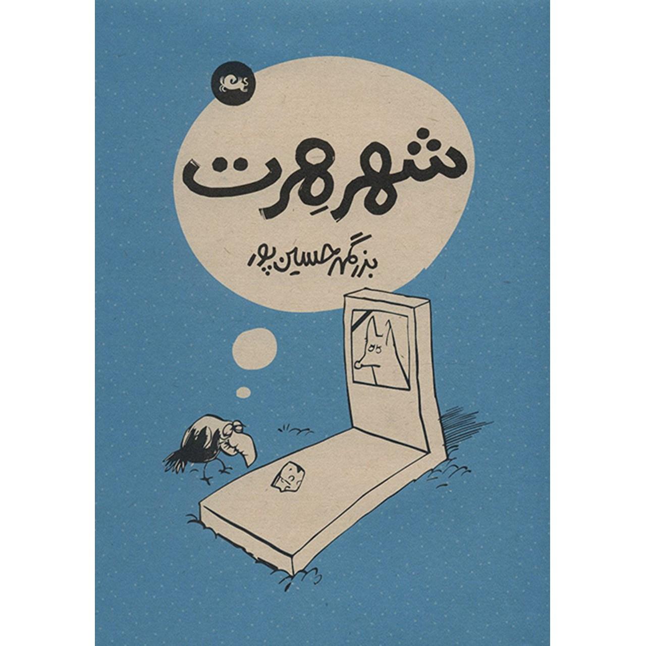 کتاب شهر هرت اثر بزرگمهر حسین پور