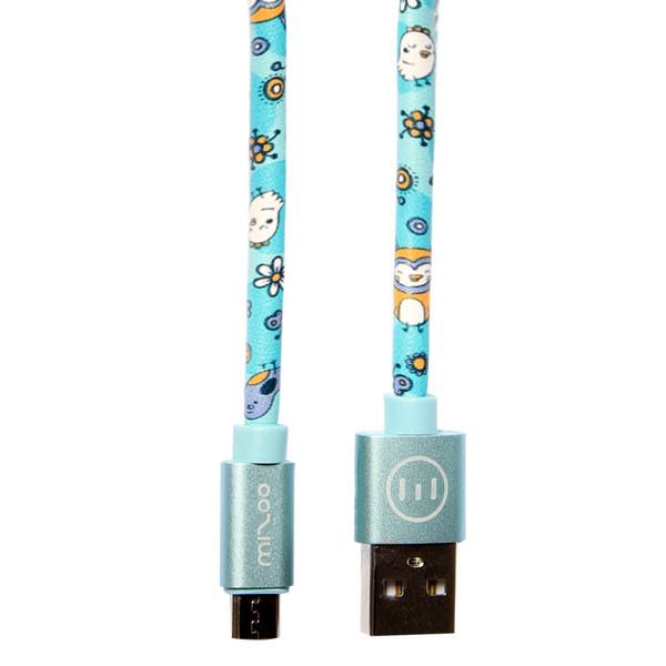 کابل تبدیل USB به MicroUSB مکس تاچ مدل Mizoo به طول 1 متر
