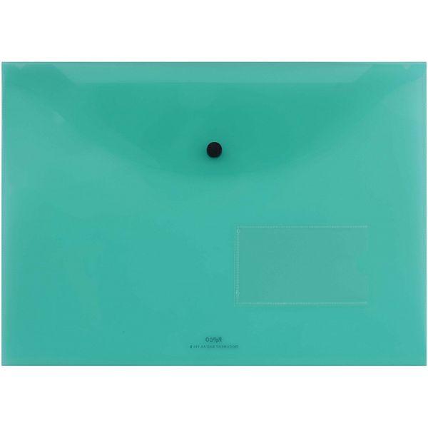 پوشه دکمه دار پاپکو کد A4-116BT سایز A4