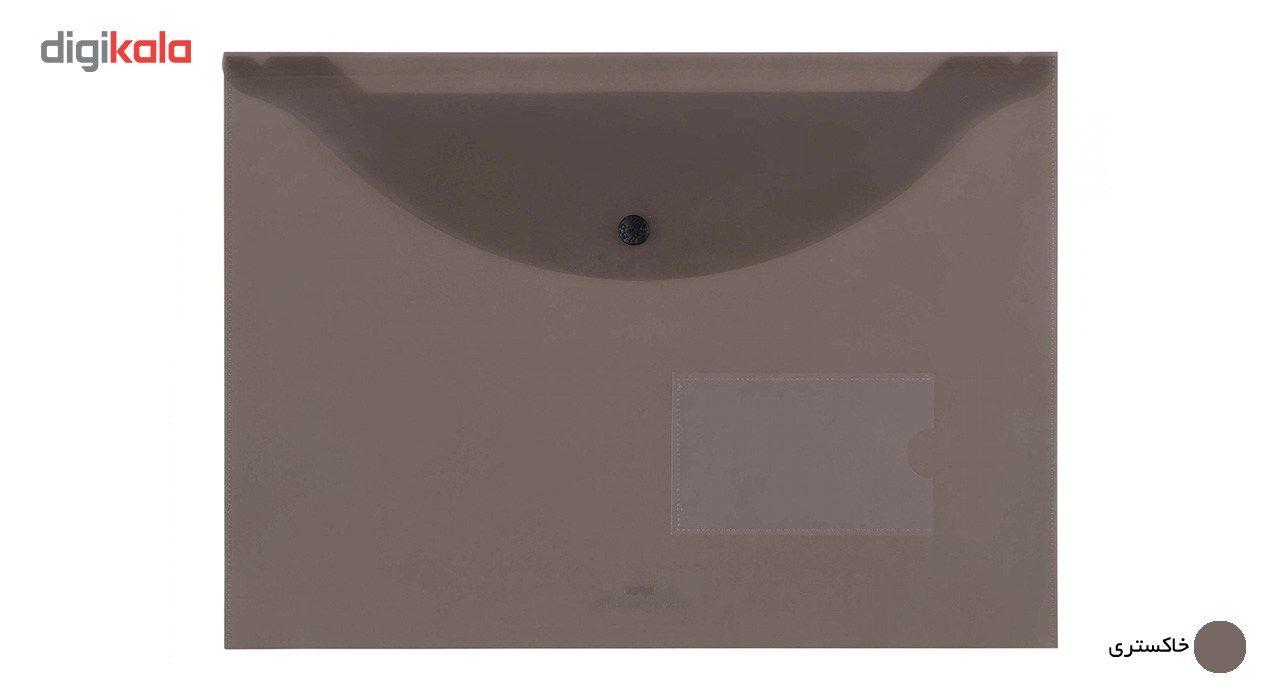 پوشه دکمه دار پاپکو کد A4-116BT سایز A4 main 1 5