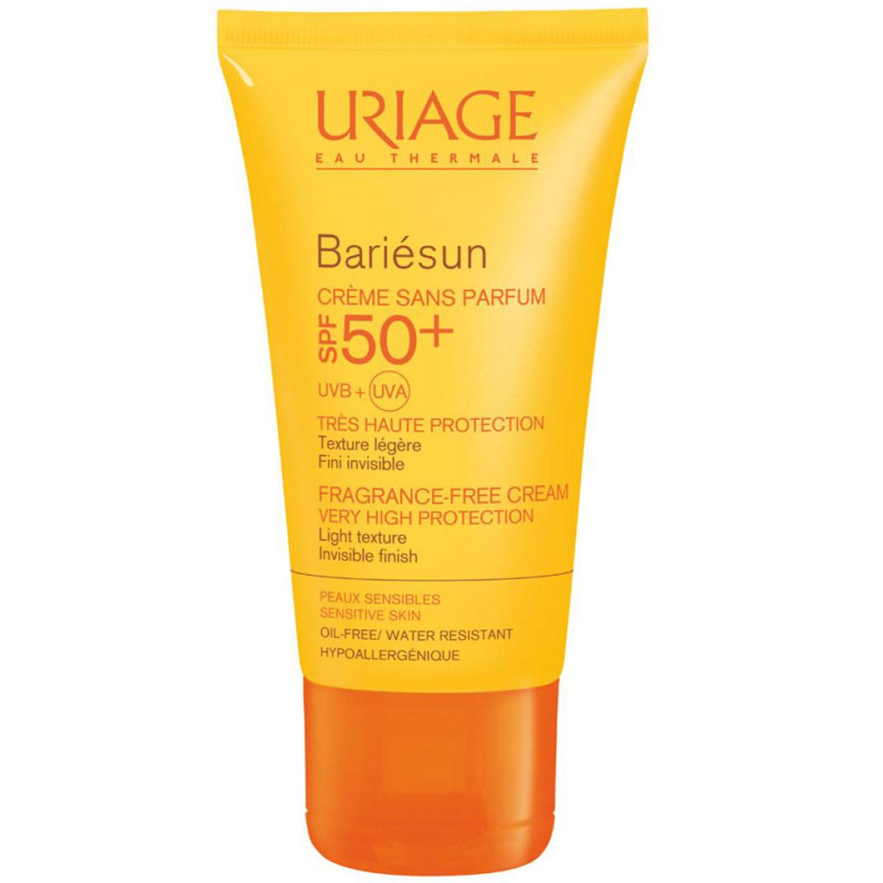 قیمت کرم ضد آفتاب اوریاژ سری Bariesun مدل Invisible Finish Fragrance Free SPF50 حجم 50 میلی لیتر
