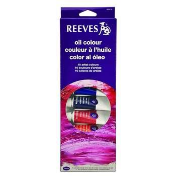 رنگ روغن 10 رنگ ریوز حجم 22 میلی لیتر